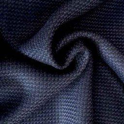Dark navy virgin wool suiting