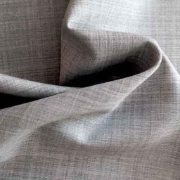 Summer-weight wool suiting (marl grey)
