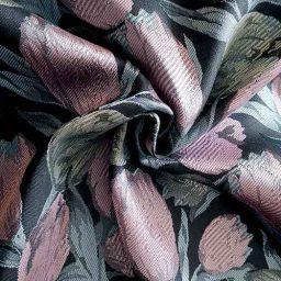 Tulip pattern jacquard (rose/mint)
