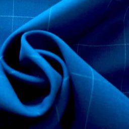 Wool-blend rich suiting (cobalt blue)