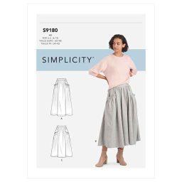S9180 Misses' Skirts
