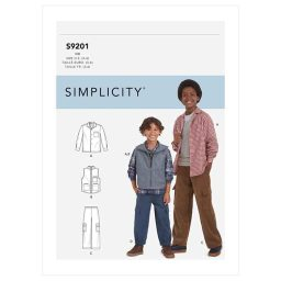 S9201 Children's & Boys' Shirt, Vest & Pull-On Pants
