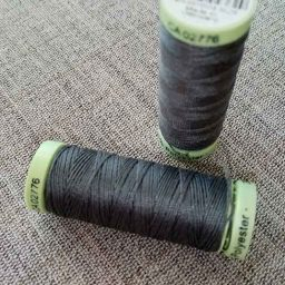 Gutermann Top Stitch thread, Col. 701 (dark grey)