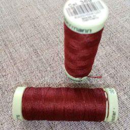 Gutermann Top Stitch thread, Col. 369 (wine)