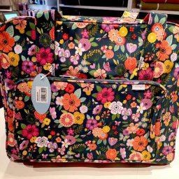 Sewing machine bag (Floral Garden pattern)