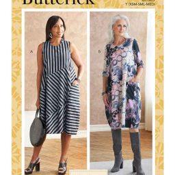 Butterick B6784 Misses' Dress