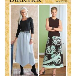 Butterick B6798 Misses' & Misses' Petite Gathered-Waist Skirt