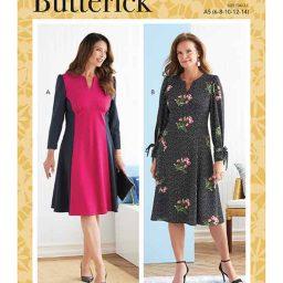 Butterick B6805 Misses' Dress