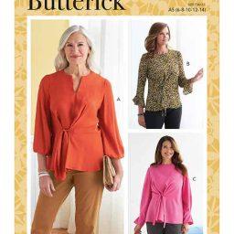 Butterick B6813 Misses' Top