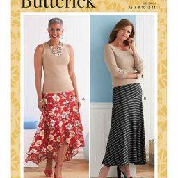 Butterick B6818 Misses' Skirt