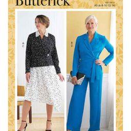 Butterick B6820 Misses' Jacket, Skirt & Pants