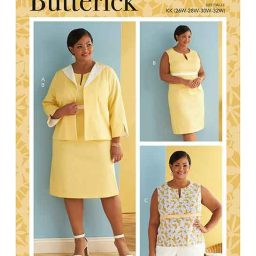 Butterick B6822 Women's Jacket, Dress & Top with C/D, DD, DDD, G, H Cup Sizes