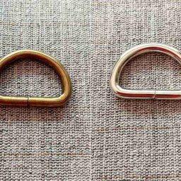 D-ring, 25mm (set of 2)