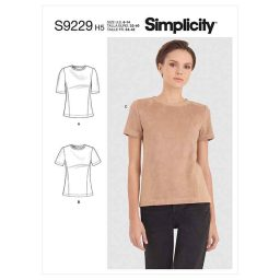 Simplicity Sewing Pattern S9229 Misses' Knit Tee Shirt