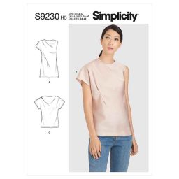 Simplicity Sewing Pattern S9230 Misses' Tops