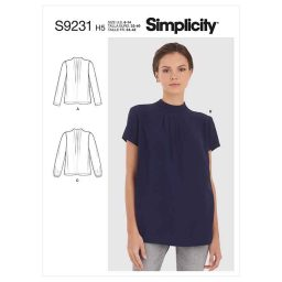 Simplicity Sewing Pattern S9231 Misses' Blouses
