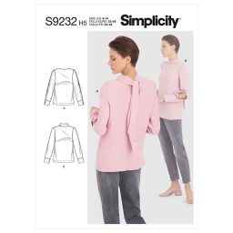 Simplicity Sewing Pattern S9232 Misses' Tops