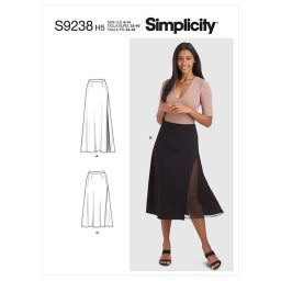 Simplicity Sewing Pattern S9238 Misses' Skirts