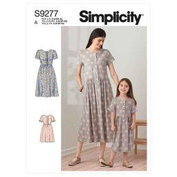 Simplicity Sewing Pattern S9277 Misses' & Children's Dresses
