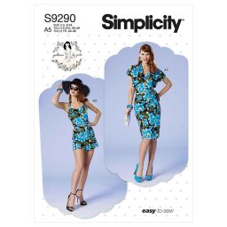 Simplicity Sewing Pattern S9290 Misses' & Misses' Petite Bolero, Bustier, Sarong & Shorts