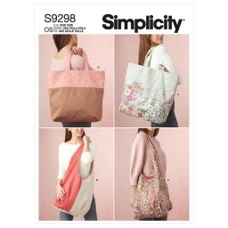 Simplicity Sewing Pattern S9298 Market Tote Bags