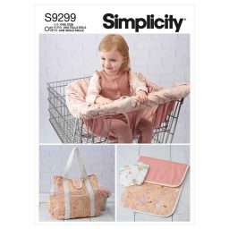 Simplicity Sewing Pattern S9299 Baby Accessories