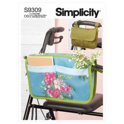 Simplicity Sewing Pattern S9309 Walker Caddy & Bag