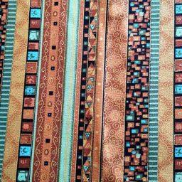 "Heavy cotton print, ""Mosaic"""