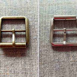 Square metal buckle, 25mm