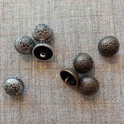Kalamkari dome buttons (20mm)