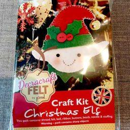 Felt Elf Christmas tree decoration kit